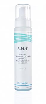 thick foaming rise-free aloe vera bodywash shampoo perineal cleanser