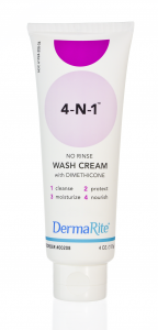 wash cream-rinse free skin protectant soap water alternative dimethicone