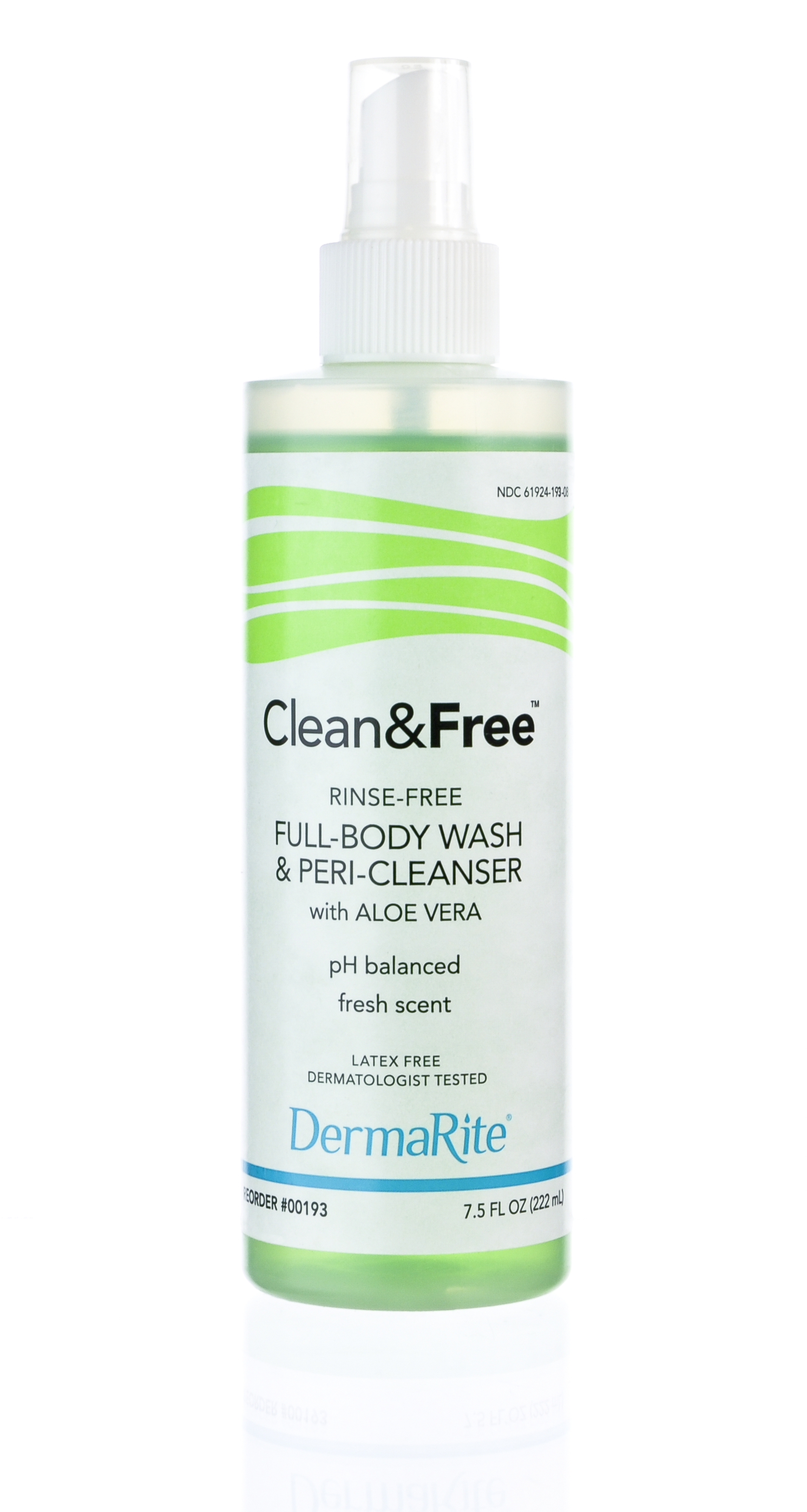 Rinse clean