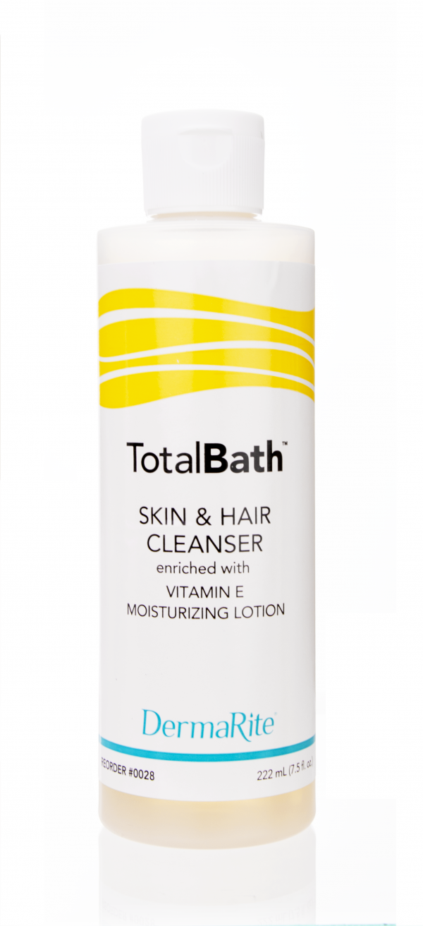 mild lotionized vitamin e enriched full-body cleanser