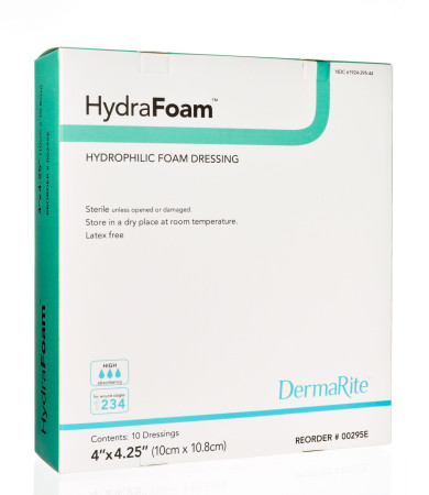easy conforming absorbent hydrophilic foam dressing decreases maceration