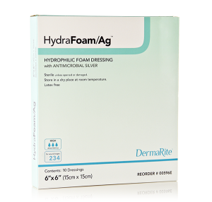 Hydrophilic Foam Dressing-easy conforming absorbent hydrophilic foam dressing antimicrobial protection polethylene vapor permeable