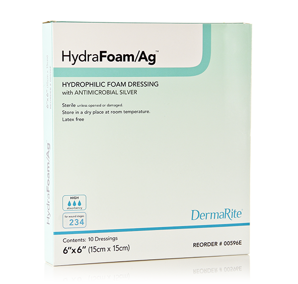 Hydrophilic Foam Dressing-easy conforming absorbent hydrophilic foam dressing antimicrobial protection polethylene vapor permeable
