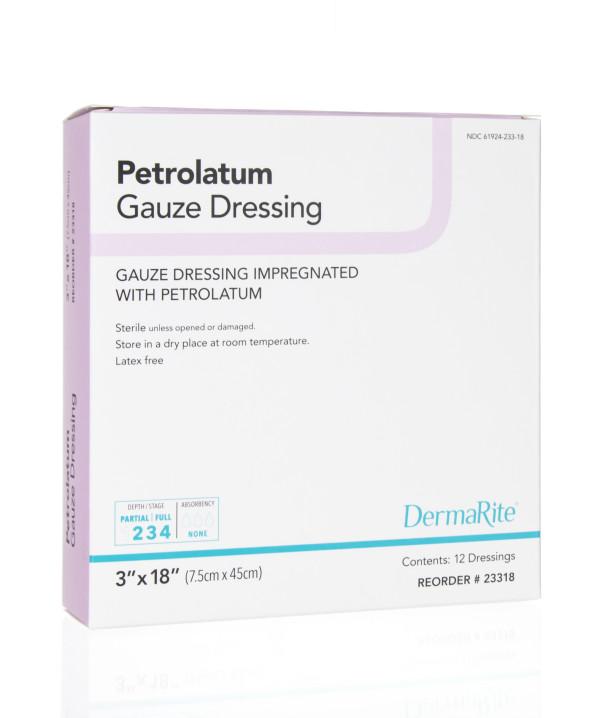 paetrolatum mesh occlusive gauze