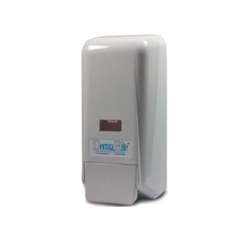 white dispenser soap sanitizer lotion refills