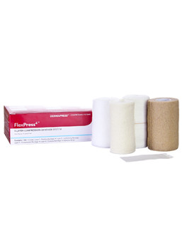 compression bandage kit adhesive strips swelling control edema management