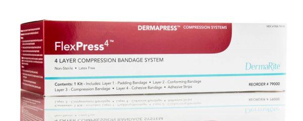 compression bandage kit adhesive strips swelling control edema management