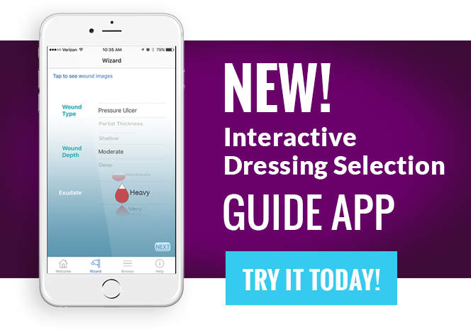 New Interactive Wound Care App