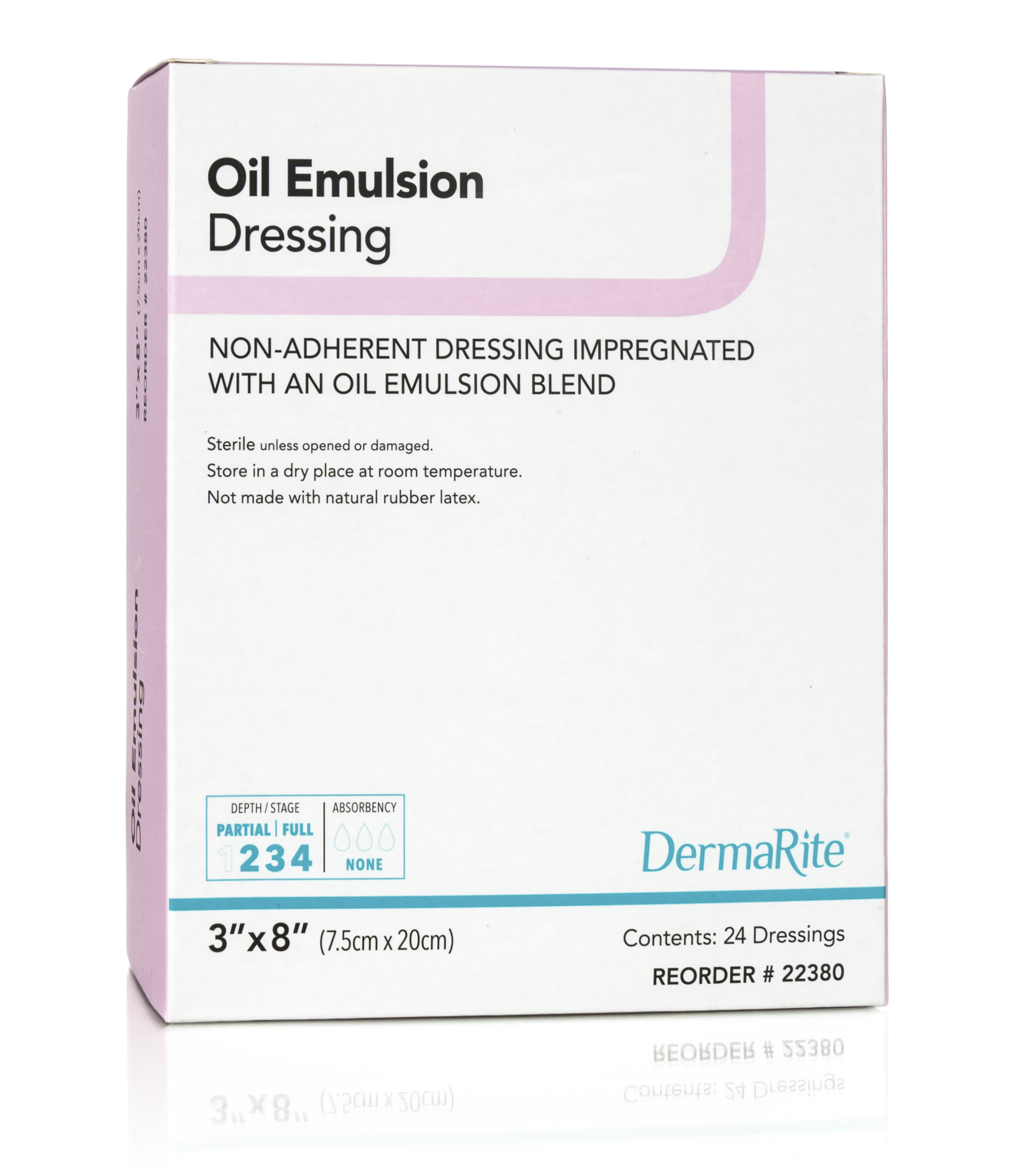 Oil Emulsion Wound Dressing-nonadherent gauze mesh sterile