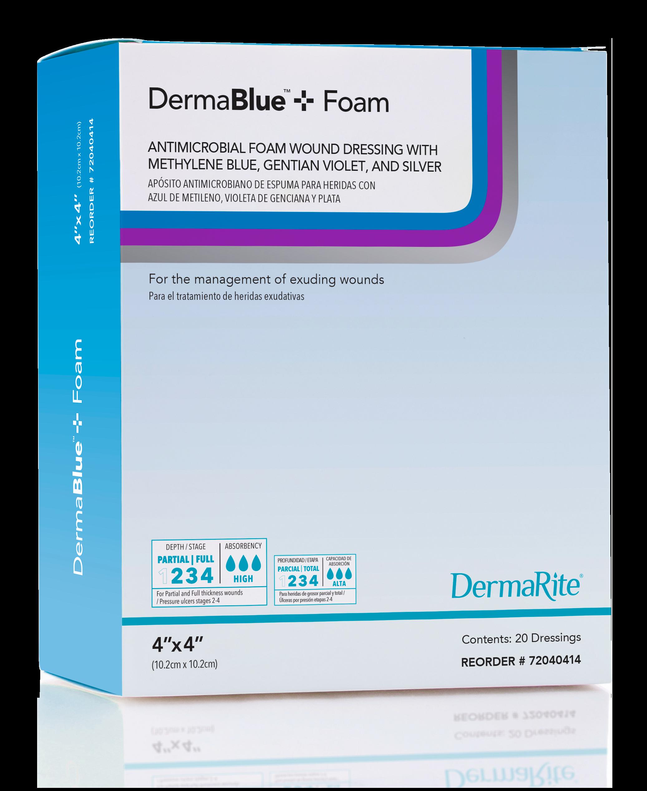 DermaBlue+™ Foam - DermaRite Industries, LLC