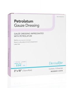Petrolatum Gauze mesh occlusive gauze