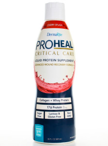 liquid protein-hydrolyzed collagen synthesis whey protein absorption vitamin c l-arginine